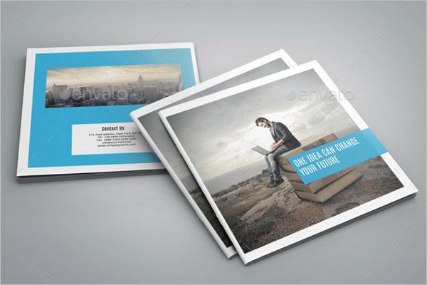 Square Bifold Business Brochure