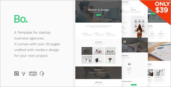 Startup Business WordPress Theme