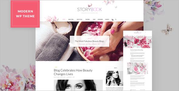 Storybook WordPress Template