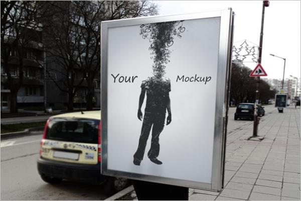 Street Poster Mock Up Design