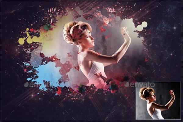 Stylish Photo Frame Template
