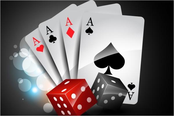 Stylish Playing Card Mock up
