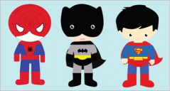 Superhero Cartoon Templates