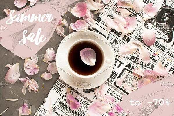 Tea Photo Filter Template