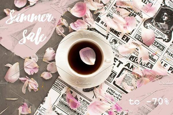 Tea Photo Filter Template