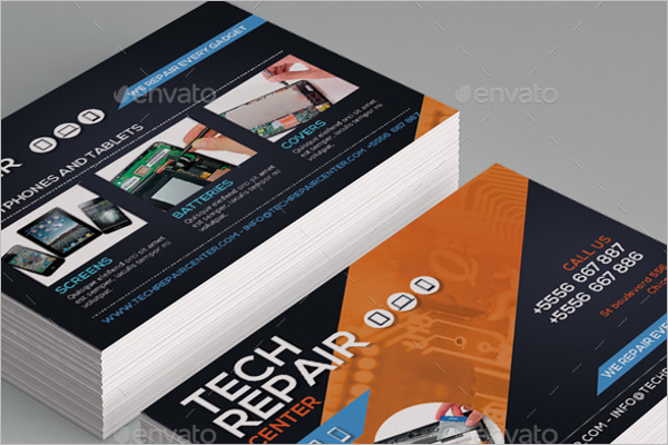 Tech Repair Center Business Cards