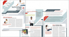 25+ Technology Newsletter Templates