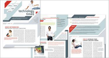 Technology Newsletter Templates