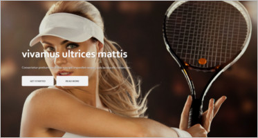 Tennis WordPress Themes