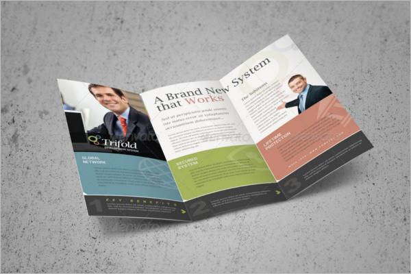 Threefold Brochure Template