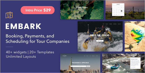 Tourism WordPress Theme