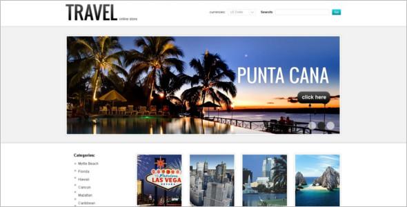 Travel Agency VirtueMart Theme