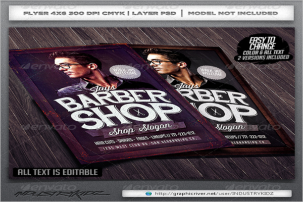 Trimmer Barber Shop Flyer