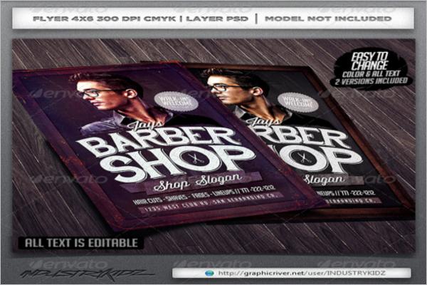 Trimmer Barber Shop Flyer