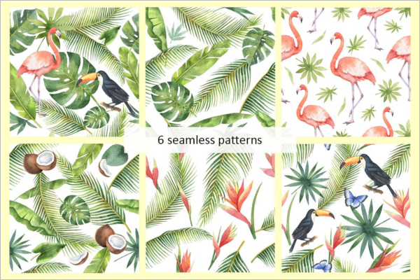 Tropical Paradise Pattern