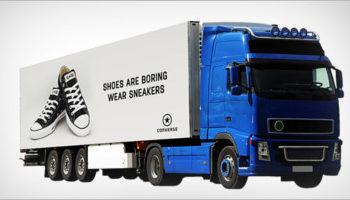 Truck Mockup PSD Templates