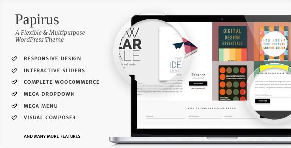 Ultimate Book Store WordPress Theme