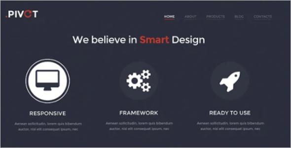 Unobtrusive Design WordPress Theme