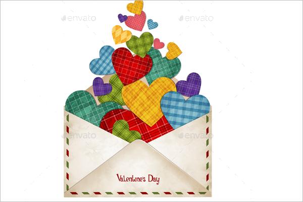 Valentine's DayEnvelope Design