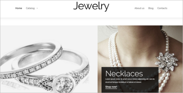 Valuable Jewelry VirtueMart Theme