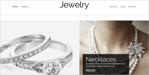 Valuable Jewelry VirtueMart Theme