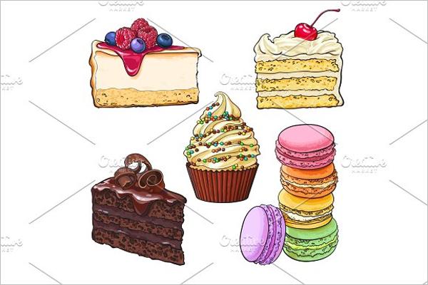 Vanilla Cake Template