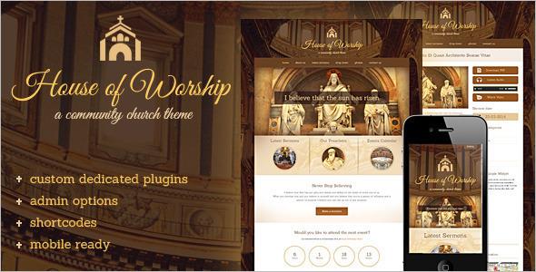 Vector Church WordPress Template
