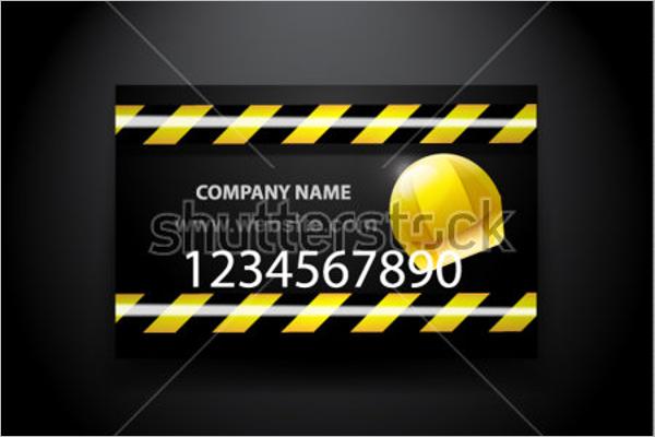 Vector Computer Repair Business Card