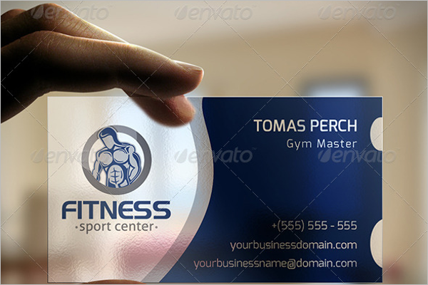 Vector Fitness Business Card Template