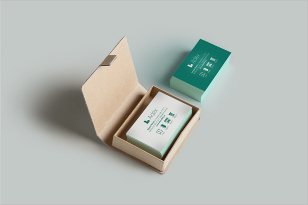 Vector Interior Business Card