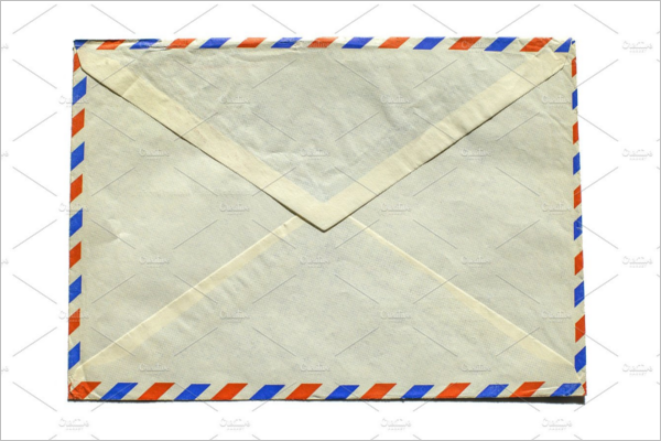 Vintage Airmail Envelope Design