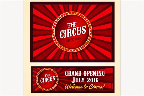 Vintage Casino Banner Design