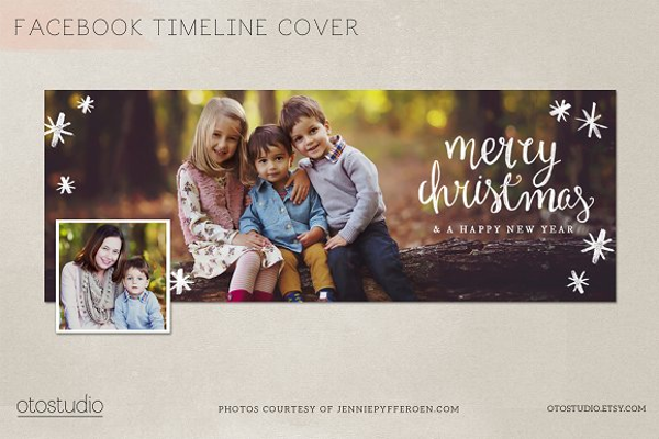 Vintage Christmas Facebook Cover