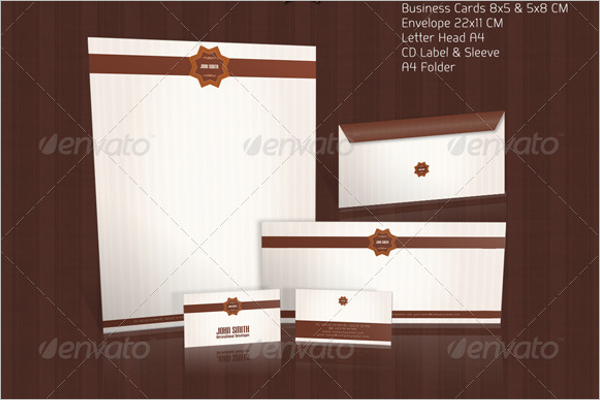 Vintage Corporate Envelope Template