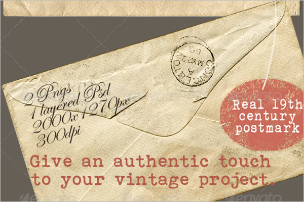 Vintage Envelope Design