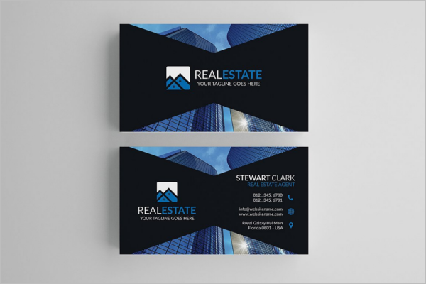 30 real estate business card templates free design ideas vintage real estate business card template cheaphphosting Images