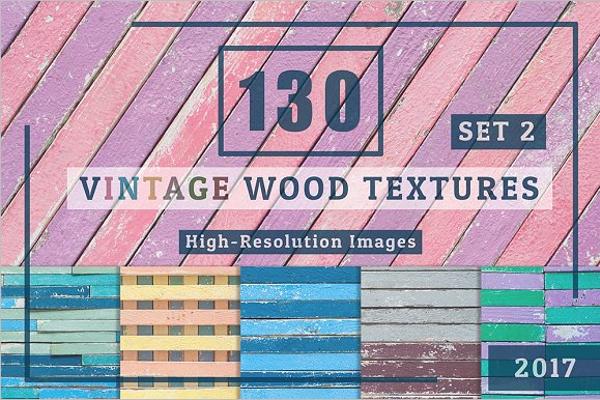 Vintage Wood Banner Template
