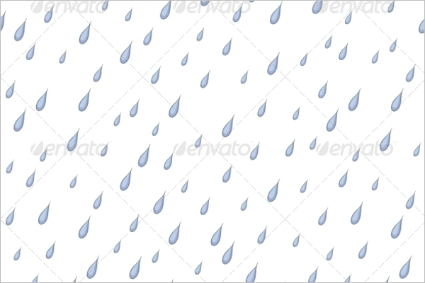 Water Drops Seamless Design