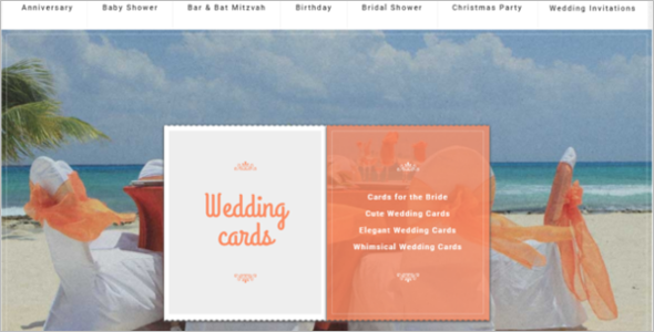 Wedding Cards PrestaShop Theme