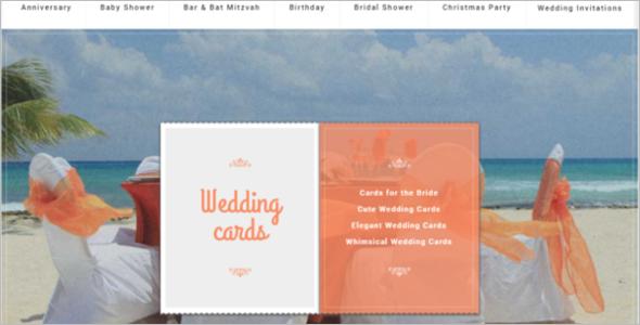 Wedding Cards PrestaShop Theme
