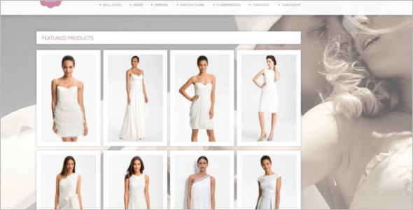 Wedding Dress PrestaShop Theme