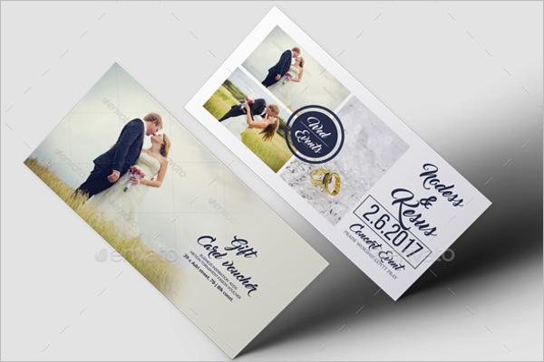 Honeymoon Vouchers As Wedding Gifts: Free & Premium Templates