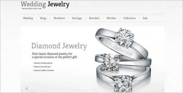 Wedding Jewelry PrestaShop Template