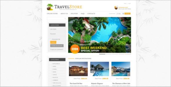 Week End Travel VirtueMart Template