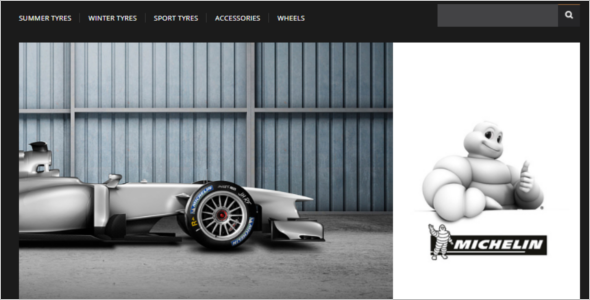 Wheels & Tyre's VirtueMart Template
