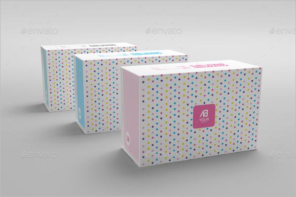White Background Gift Box Design