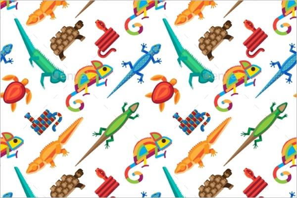 Wildlife Animal Tropical Pattern