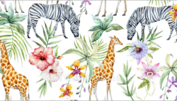 Wildlife Tropical Patterns