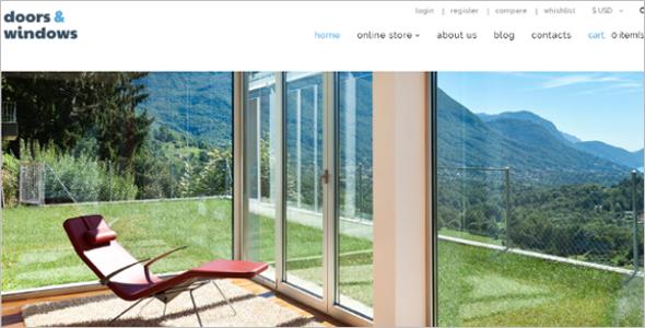 Windows & Doors VirtueMart Template