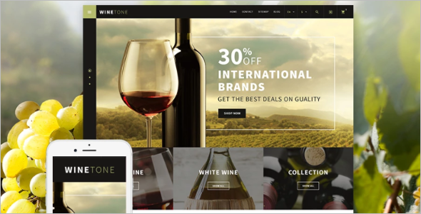 Wine Tone PrestaShop Theme